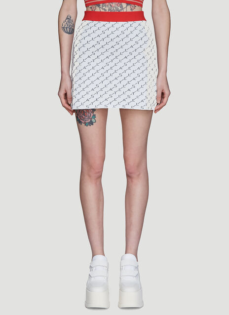 Stella McCartney Logo Knit Skirt