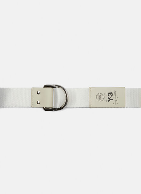 Y-3 D Ring Logo Belt