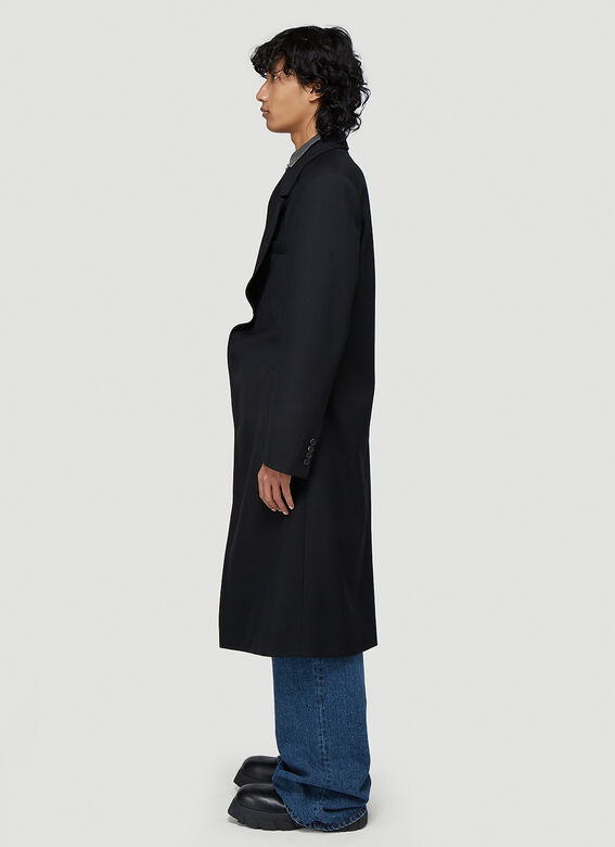 Y/Project Classic Twisted Lapel Coat 3