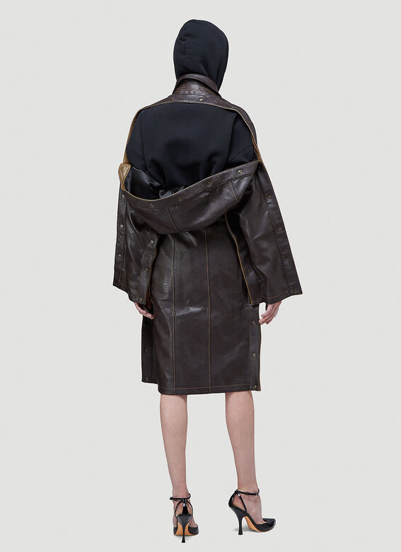 Y/Project SNAP TRENCH COAT 4