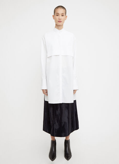 Jil Sander Layered Panel Shirt Dress