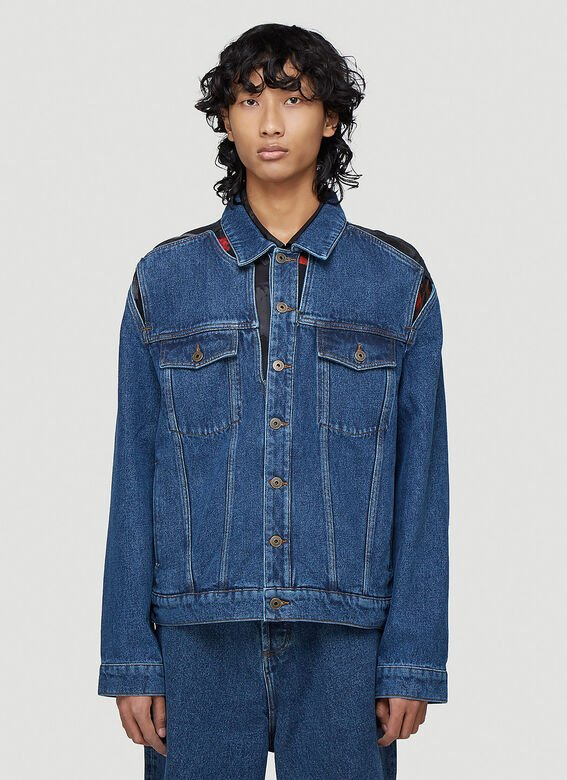 Y/Project CLASSIC PEEP SHOW DENIM JACKET 1