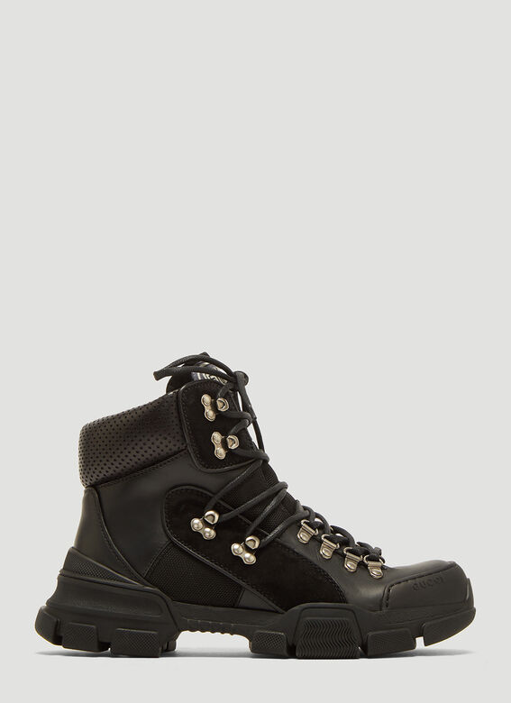 1d6049262520 Gucci Flashtrek High-top Sneakers in Black