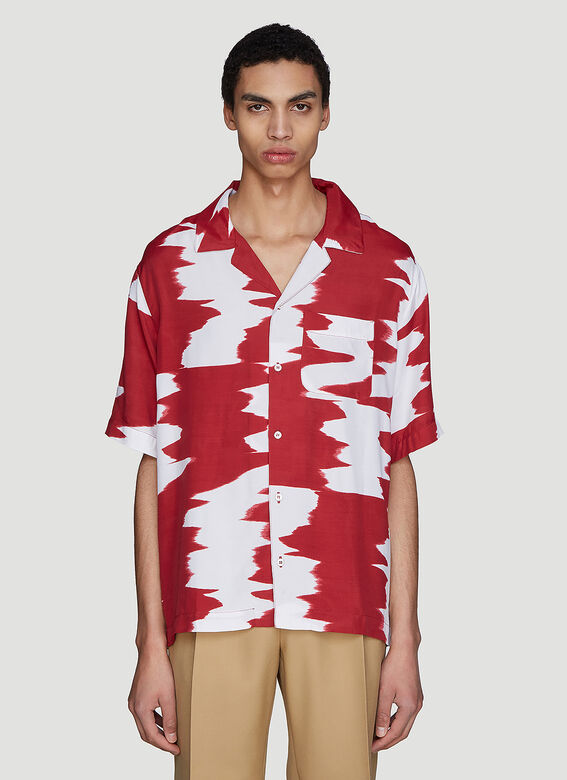 Missoni Wide Zig-Zag Short Sleeve Shirt