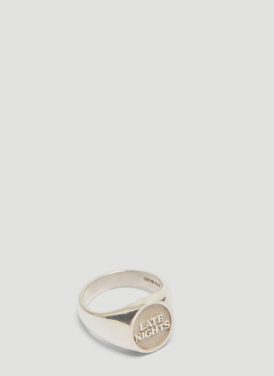 Mass The 'Late Nights' Signet Ring
