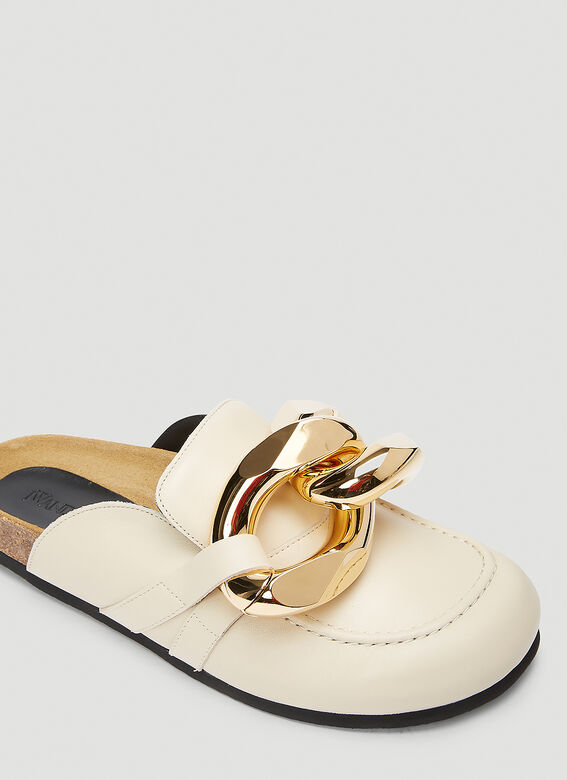 JW Anderson Chain Leather Loafers 5