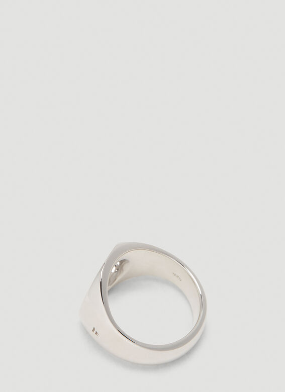 Tom Wood Oval Open Ring 2