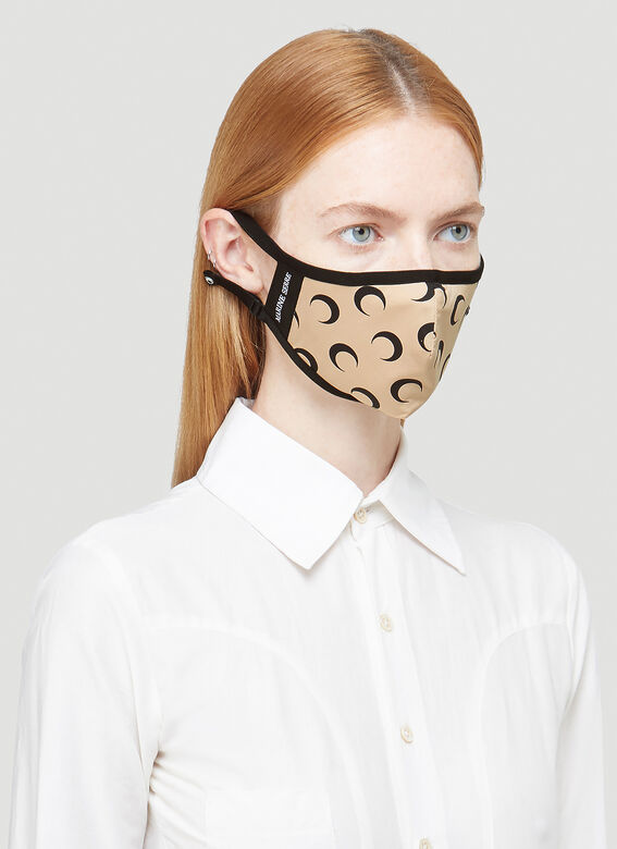 Marine Serre Crescent Moon Air Face Mask 2