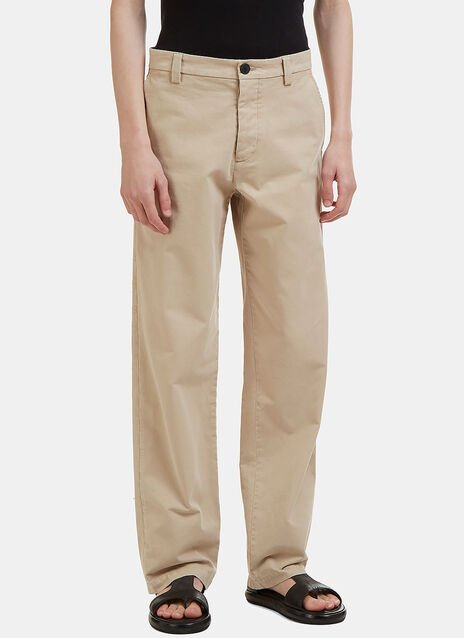 JW Anderson Straight Leg Chino Pants