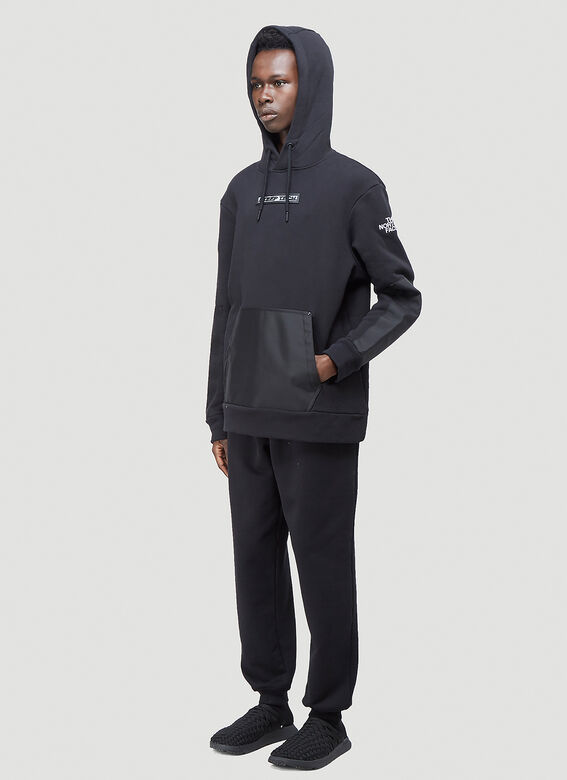 The North Face Black Series Contrast-Panel Hooded Sweatshirt 2