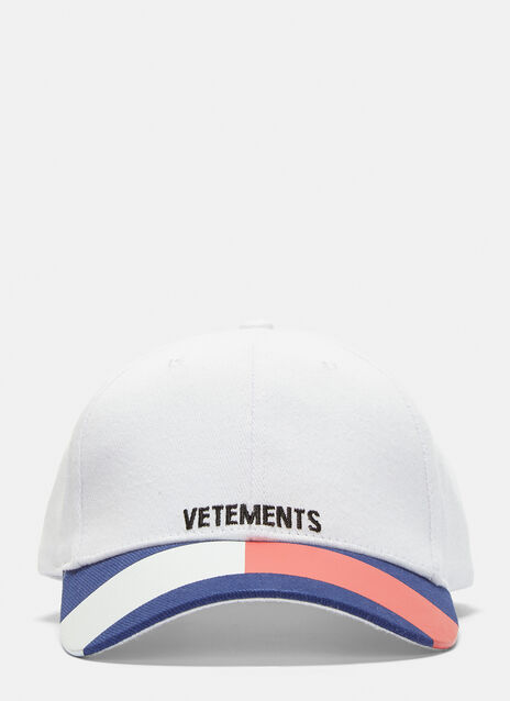 Vetements Tommy Logo Baseball Cap