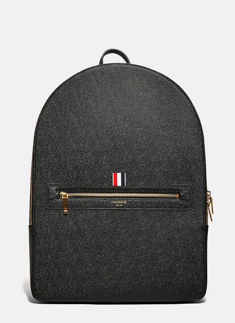 Thom Browne Large Pebble Grained Backpack