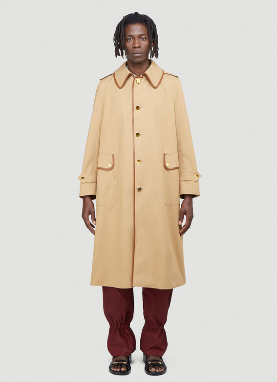 Gucci Oversized Trench Coat 1