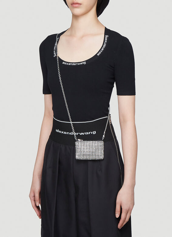 Alexander Wang Wangloc Rhinestone Mini Shoulder Bag 2