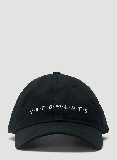 Vetements Friendly Logo Baseball Cap