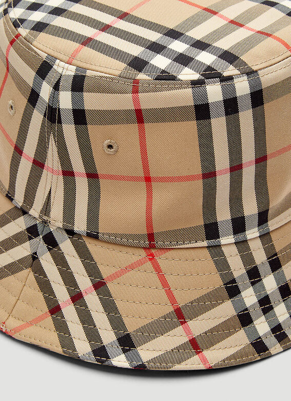 Burberry A:MH 2 PANEL BUCKET HAT:117330:A7026 4