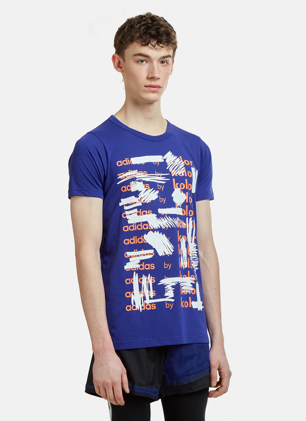 Adidas By Kolor Graphic T Shirt in Purple | LN CC