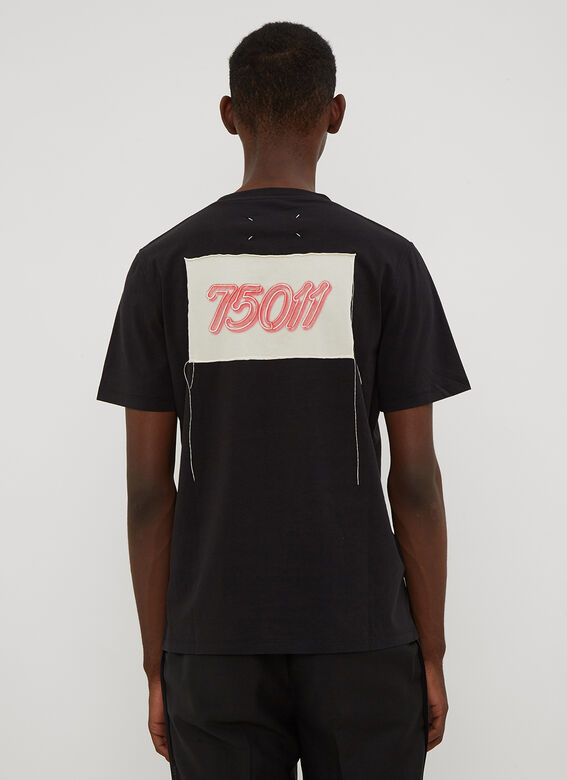 Maison Margiela Neon Paris Patch T-shirt