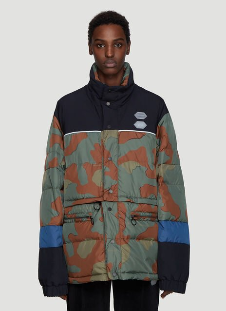 Off-White Camo Padded Jacket