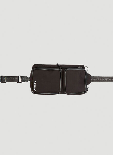Off-White Cordura Hip Belt Bag