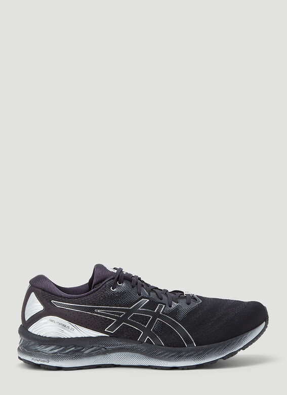 Asics Gel-Nimbus 23 Platinum Sneakers in Black