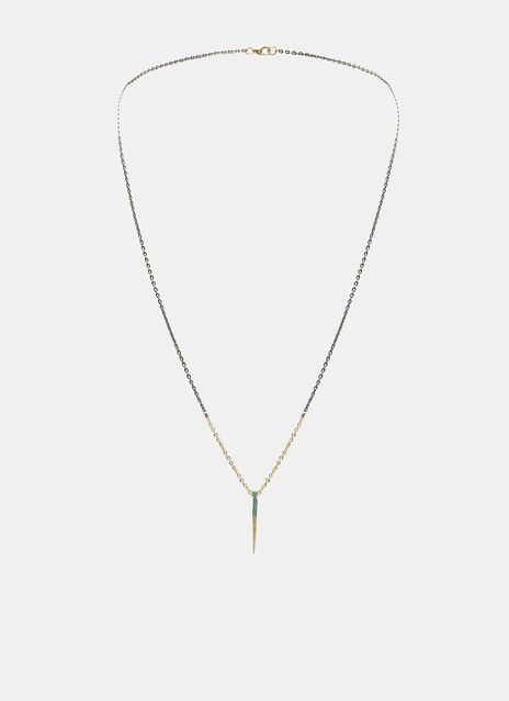 Small Thorn Pendant Necklace