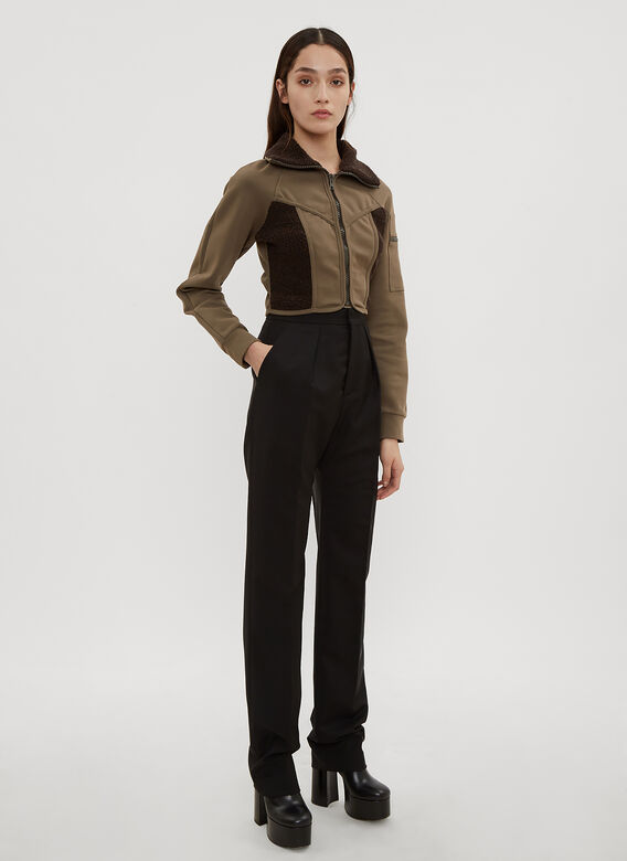 Atlein High Waist Pleated Tailored Pants