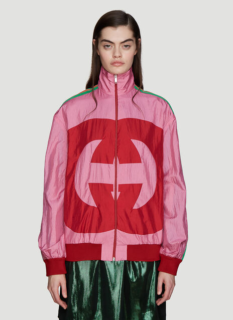 Gucci Interlocking G Windbreaker Jacket