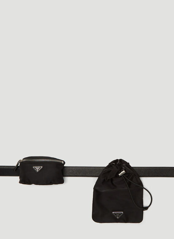 check out high quality guarantee cheapest price Nylon Belt Bag In Black