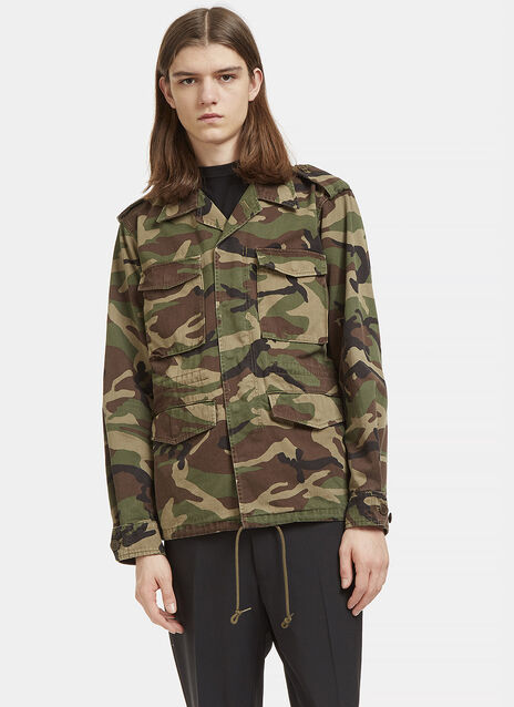 Love Force Camouflage Military Jacket