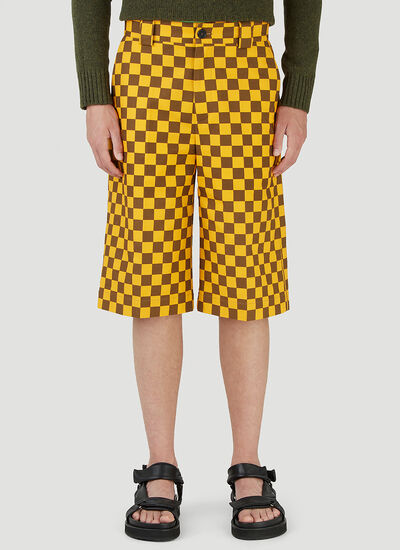JW Anderson Checked Skater Pants