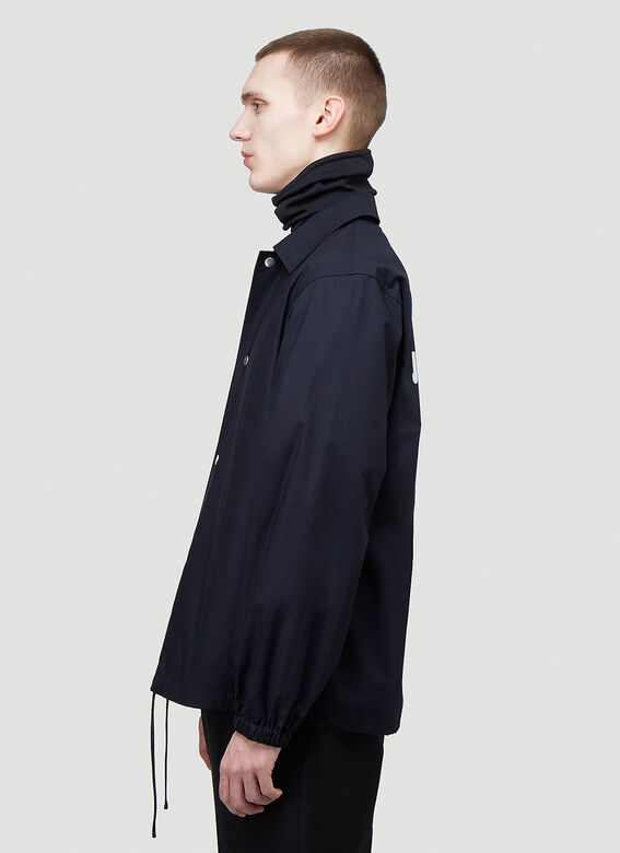 Jil Sander ESSENTIAL OUTDOOR 03 PNT - TECHNICAL POPLIN WATER REPELLENT 3