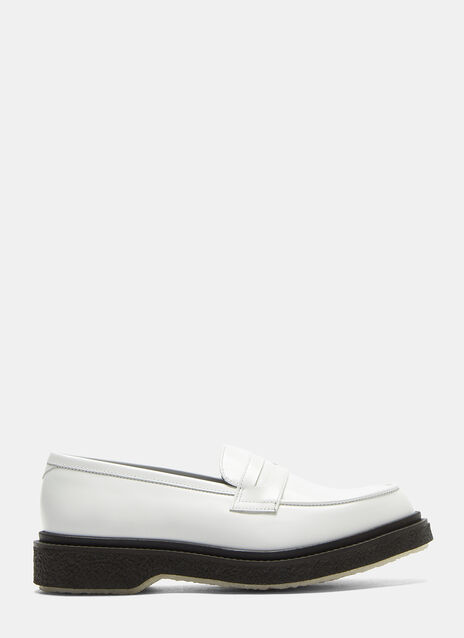 Adieu Type 5 Crepe Sole Penny Loafers