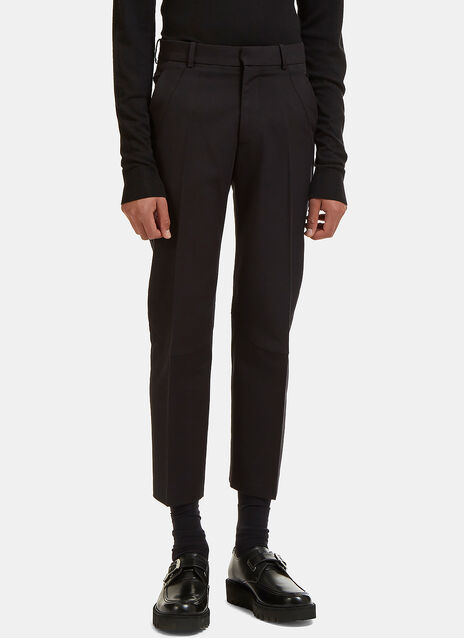 Defined Seam Straight Leg Pants