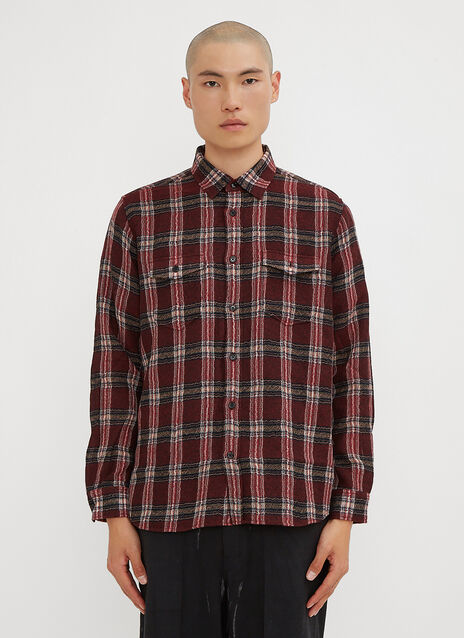 Saint Laurent Checked Field Shirt