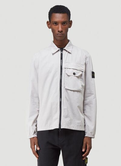 Stone Island Zip-Up Shirt Jacket