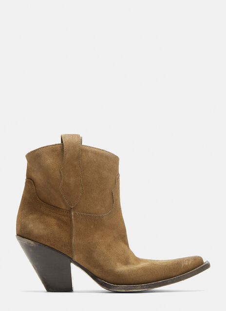 Maison Margiela Mexas Suede Ankle Boots