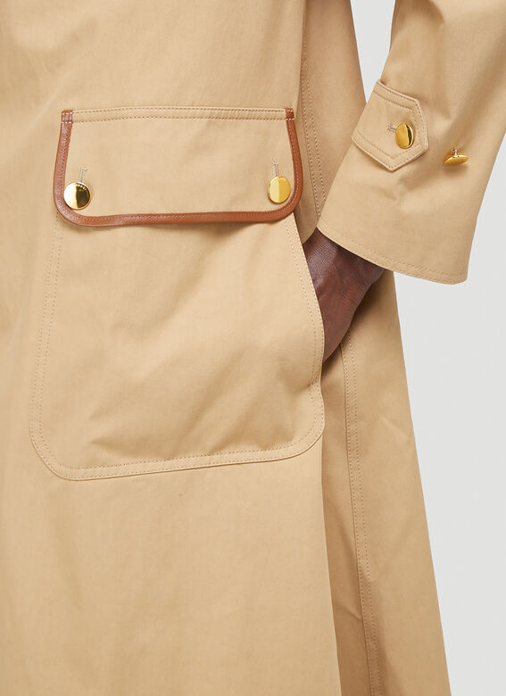 Gucci Oversized Trench Coat 5