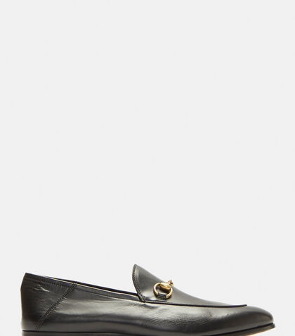 a26a5d04cc4 Gucci Brixton Leather Loafers In Black