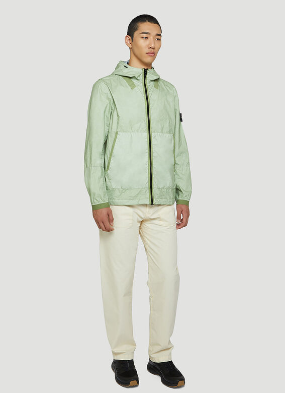 Stone Island Crinkle Hooded Jacket 2