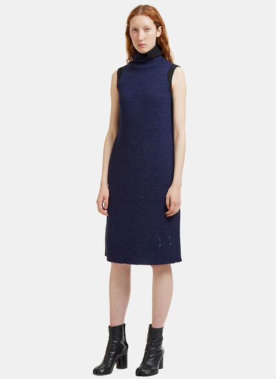 Ribbed Knit Interchangeable Layered Dress
