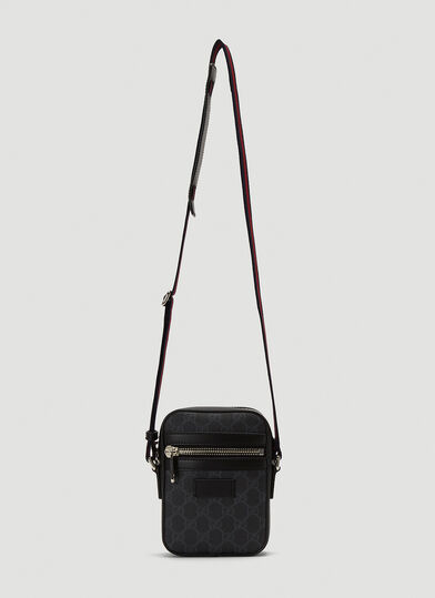 구찌 Gucci Classic GG Cross-Body Bag in Black