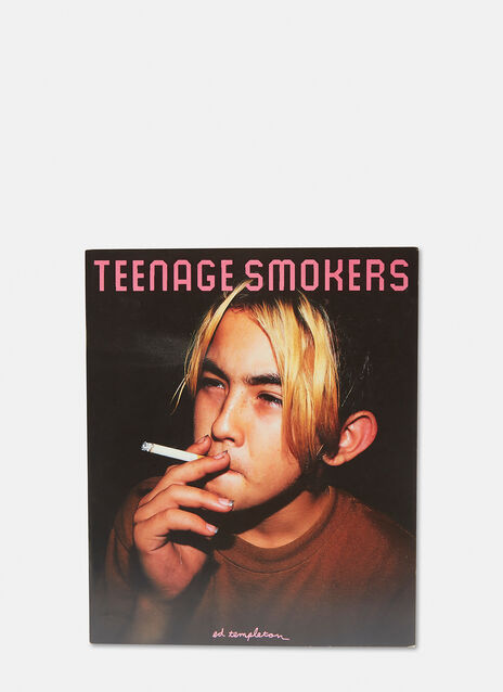 Book Ed Templeton, Teenage Smokers, signed
