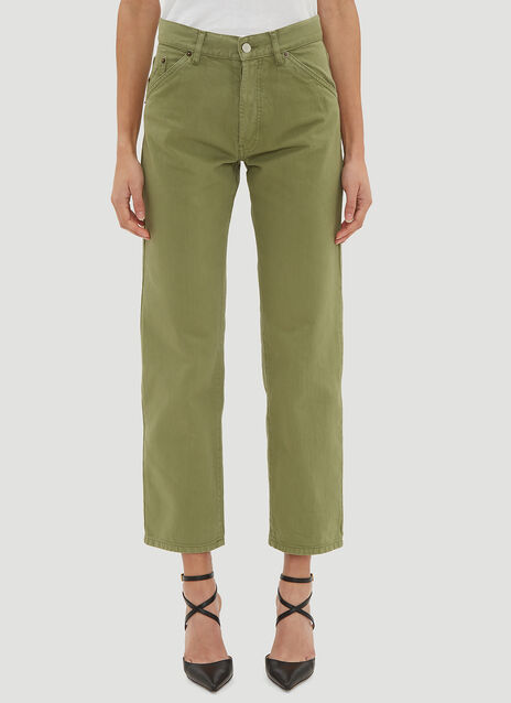Jacquemus Cropped Jeans