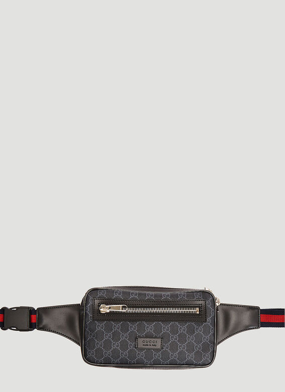4e1d6a04995 Gucci Soft GG Supreme Belt Bag in Black