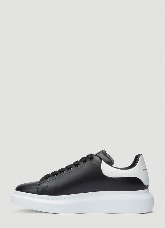 Alexander McQueen LARRY/LARRY LEATHER UPPER AND RU BLACK/WHITE 3