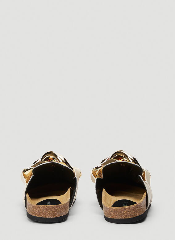 JW Anderson Chain Leather Loafers 4