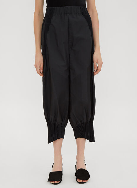 Issey Miyake Sunset Technical Dropped Crotch Trousers