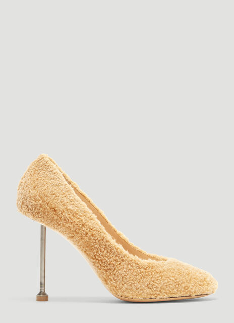 Maison Margiela Teddy Bear Stiletto Heels