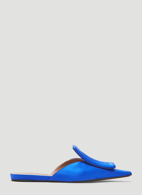 Marni Padded Tongue Satin Mule